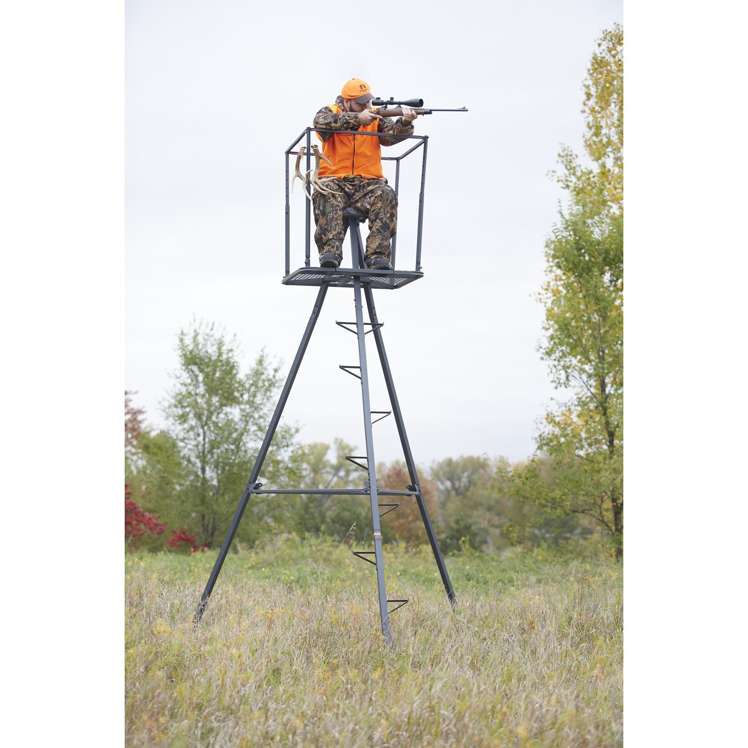 Best tree stand for the money 2017 tree stand reviews for Tree stand pictures
